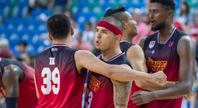 đội bóng rổ saigon heat