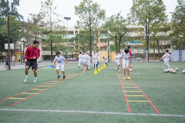 học bóng đá 18