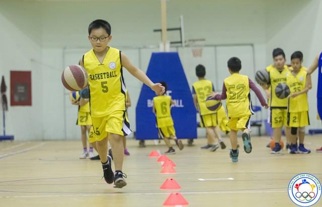 học bóng rổ cơ bản