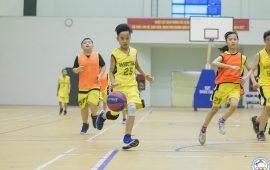 lớp học bóng rổ ở cầu giấy