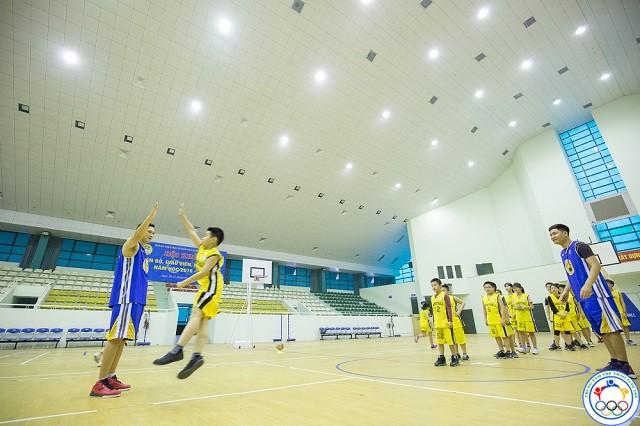 lớp học bóng rổ ở đan phượng