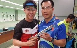 tay súng hàng đầu giành huy chương vàng