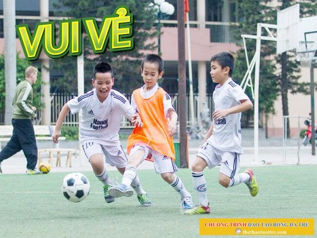 LỢI ÍCH của bóng đá đối với SỨC KHỎE trẻ em [A2 Chương trình đào tạo bóng đá trẻ]