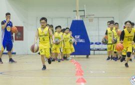 lớp học bóng rổ ở ba đình